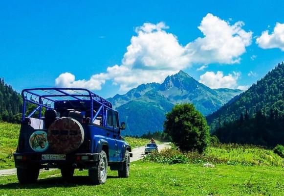 Джип-тур в Абхазию «Абхазский драйв»