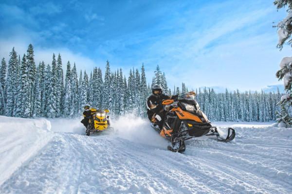 Туры на снегоходах в Сочи - «Брось вызов горам!»