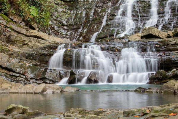 Экскурсия к водопадам Сочи «33 водопада Сочи»